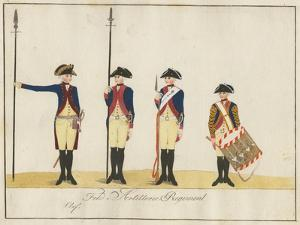 Field Artillery Regiment, C.1784 by J. H. Carl