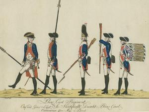 Prinz Carl Regiment, C.1784 by J. H. Carl