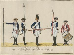 Regiment Von Bose, C.1784 by J. H. Carl
