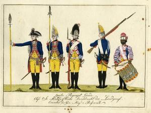 Second Guard Regiment, C.1784 by J. H. Carl