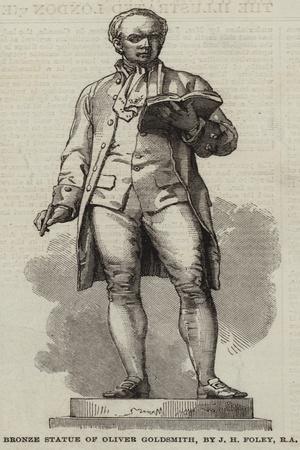 Bronze Statue of Oliver Goldsmith
