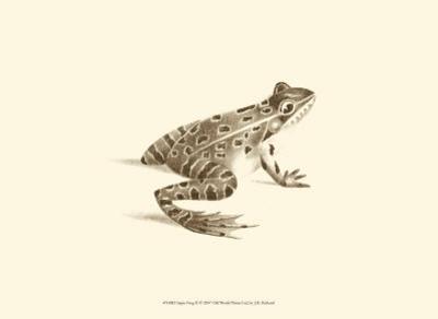 Sepia Frog II