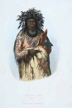 American Indian Engraving by J. Harris