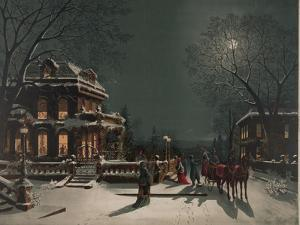 Christmas Eve Party by J. Hoover & Son