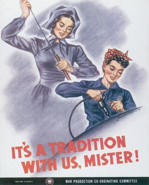 It's A Tradition With Us, Mister! by J. Howard Miller