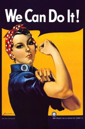 Rosie the Riveter (1944) by J. Howard Miller