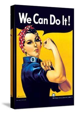 Rosie the Riveter by J^ Howard Miller