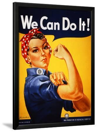 We Can Do It! (Rosie the Riveter) by J. Howard Miller