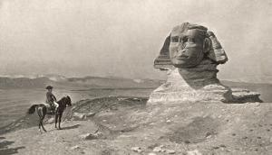 "Egyptian Campaign ""L'Oedipe"", Napoleon Face to Face with the Sphinx by J.i. Gerome"