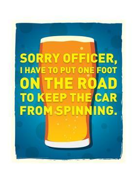 Sorry Officer by J.J. Brando