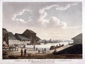 Bayswater, Paddington, London, 1801 by J Jeakes