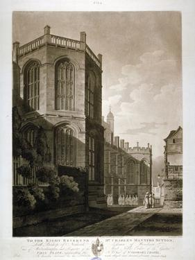 North-East View of St George's Chapel, Windsor Castle, Berkshire, 1804 by J Jeakes