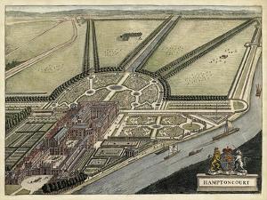 Hampton Court by J. Kip