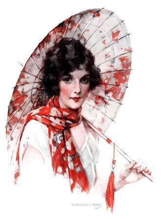 """Japanese Parasol,""August 15, 1925"