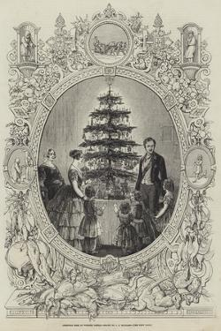 Christmas Tree at Windsor Castle by J.l. Williams