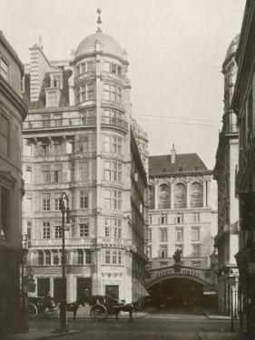 The Savoy Hotel Strand by J. Lymbery