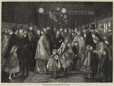 Returning from the Pantomime, the Last Train