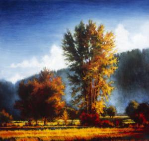 Autumn Morning II by J.m. Steele