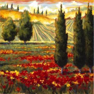 Tuscany in Bloom III by J.m. Steele