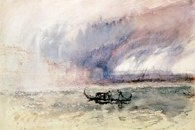 A Storm over Venice by J. M. W. Turner