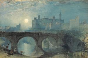 Alnwick Castle, C. 1829 by J. M. W. Turner