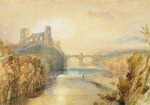 Barnard Castle (W/C, Gouache, Pen and Ink on Paper) by J. M. W. Turner