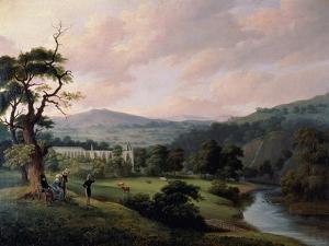 Bolton Abbey from the River Wharfe by J. M. W. Turner
