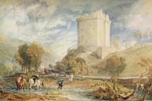 Borthwick Castle, 1818 by J. M. W. Turner