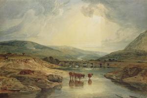 Bridge over the Usk by J. M. W. Turner