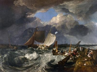 Calais Pier: an English Packet Arriving, C.1802 by J. M. W. Turner