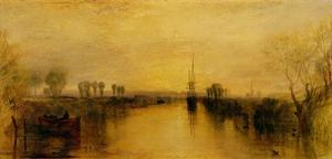 Chichester Canal, 1829 by J. M. W. Turner