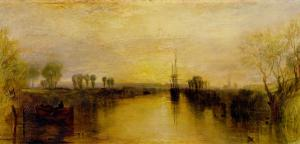 Chichester Canal, circa 1829 by J. M. W. Turner