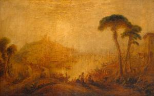 Classical Landscape with Forms by J. M. W. Turner