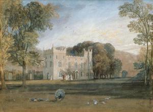 Clontarf Castle, Co Dublin, 1817 by J. M. W. Turner