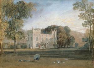 Clontarf Castle, County Dublin, 1817 by J. M. W. Turner