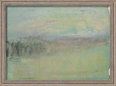 Coastal Scene. C.1830 by J. M. W. Turner