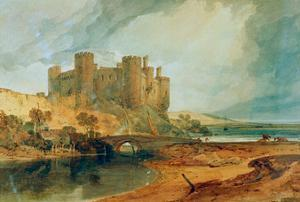 Conway Castle, 1798 by J. M. W. Turner