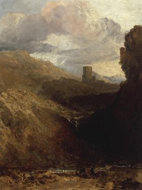 Dolbardern Castle by J. M. W. Turner