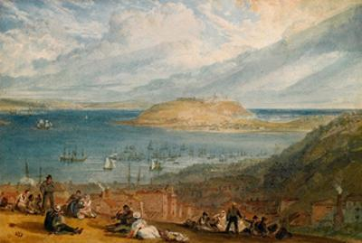 Falmouth Harbour, Cornwall, C.1812-14 by J. M. W. Turner