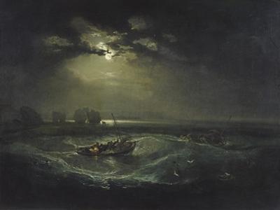 Fishermen at Sea by J. M. W. Turner