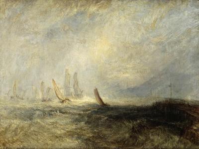 Fishing Boats Bringing a Disabled Ship into Port Ruysdael