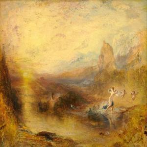 Glaucus and Scylla by J. M. W. Turner