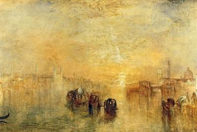 Going to the Ball (San Martino), 1846 by J. M. W. Turner