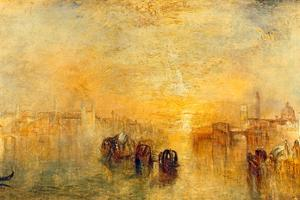 Going to the Ball, Venice, 1846 by J. M. W. Turner