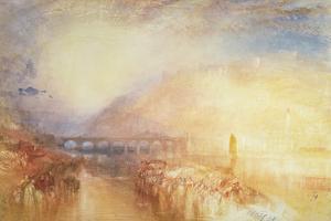Heidelberg, C.1846 by J^ M^ W^ Turner