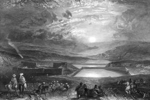 Israel Jerusalem by J. M. W. Turner