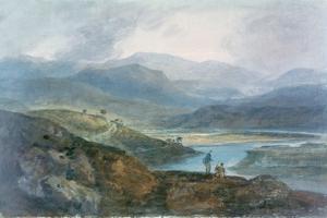 Lake, Scotland, 1801-1802 by J^ M^ W^ Turner