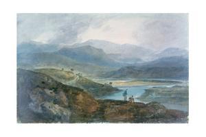 Lake, Scotland, 1801-1802 by J. M. W. Turner