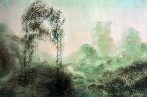 Landscape in the Fog by J. M. W. Turner