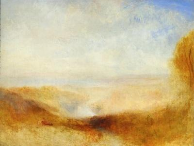 Landscape With A River And A Bay In The BackgroundJ. M. W. Turner